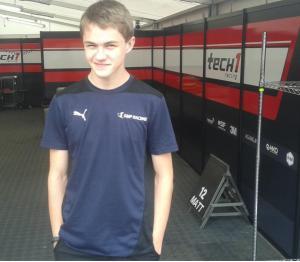 Orudzhev, uno de los pilotos apoyados por SMP.