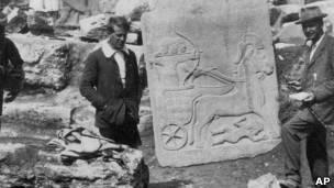 T.E. Lawrence era arqueólogo y aventurero