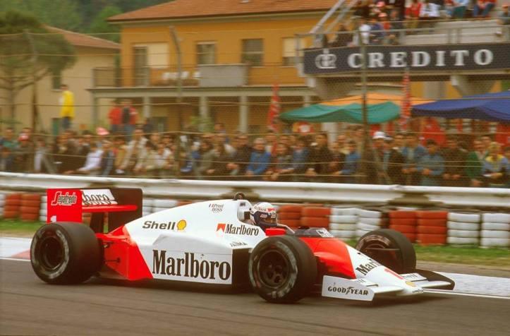 Alain Prost se erguía como la estrella de la escuadra británica, con 2 títulos mundiales a cuestas.