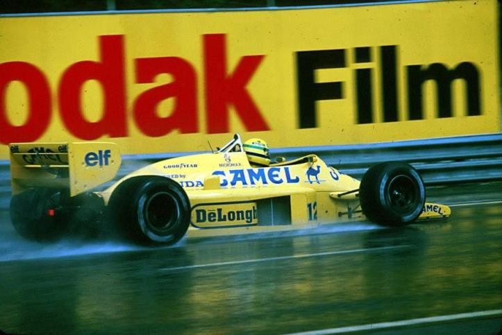 Senna era la apuesta del los de Honda para encarar la entonces novel comunión