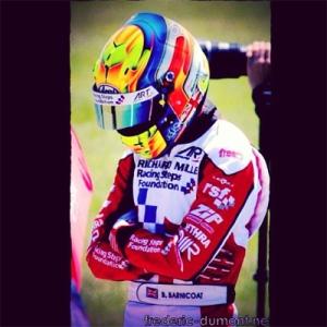 Ben Barnicoat, uno de los pilotos más fuertes, actualmente 6°.