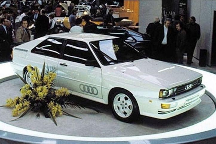 Presentación del Audi Quattro en Ginebra