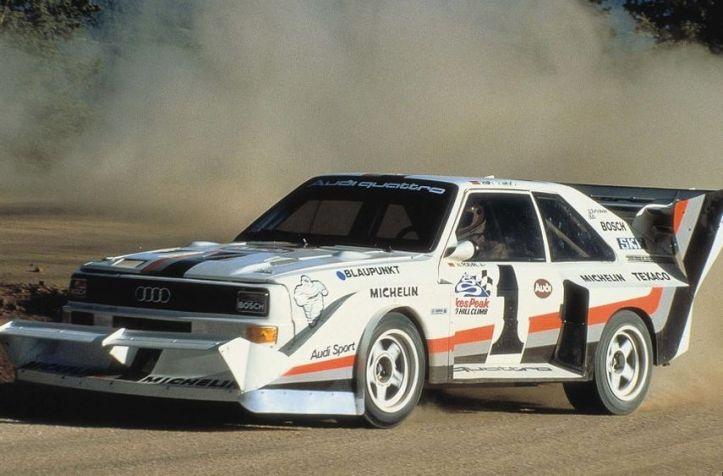 En 1987 Walter Röhrl ganaba Pikes Peak con un tiempo récord