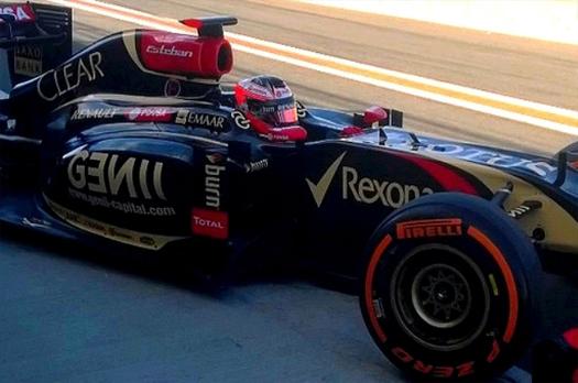 Esteban Ocon F1 Valencia 2014