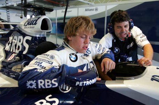 Vettel F1 Jerez 2005 (BMW Press)