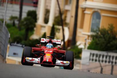 2014 Monaco Fernando Alonso Ferrari F14T
