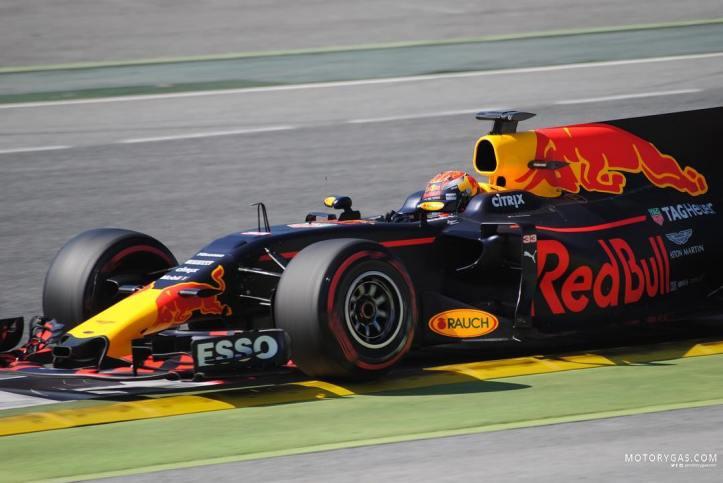 Verstappen preseason 2017 Barcelona