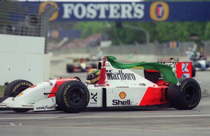 1993 Adelaide Senna