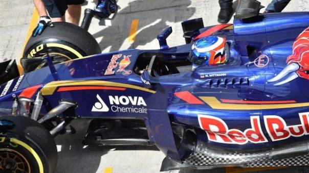 Marco Wittmann F1 Toro Rosso BMW