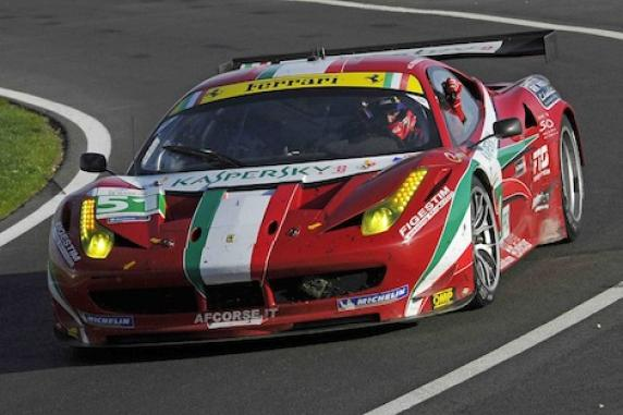 AF Corse Ferrari Le Mans