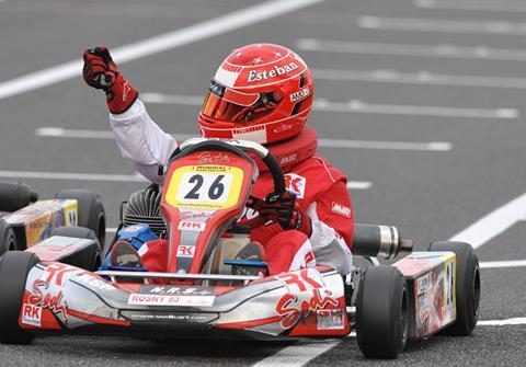 Ocon Ferrari Schumacher
