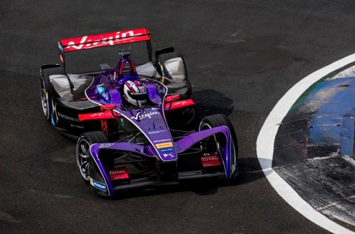 Alex Lynn Formula E DS Virgin Racing