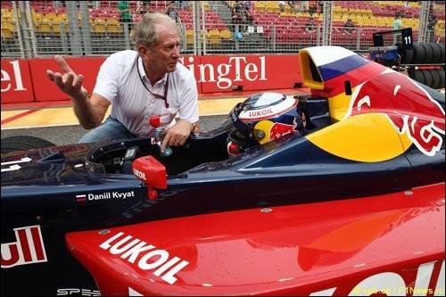 Kvyat Helmut Marko Formula BMW