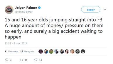 Jolyon Palmer F3