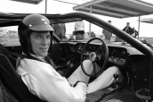Daytona 24 Hour Race, Daytona, FL, 1966. Dan Gurney in the cockpit of a Ford MarkII. CD#0777-3292-0443-8